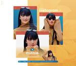 [Minnie] Instagram - PNG PACK