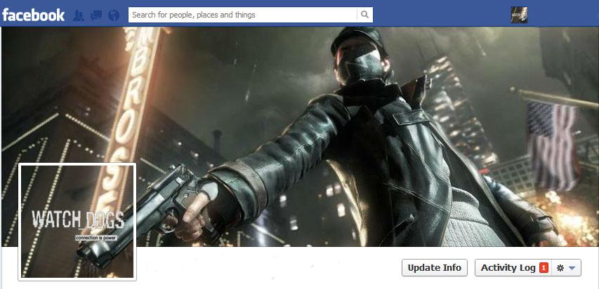 Watch Dogs Facebook ti...