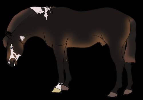 F2U: Head Dropped Horse
