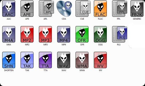 Foobar2000 Icon File Types p1