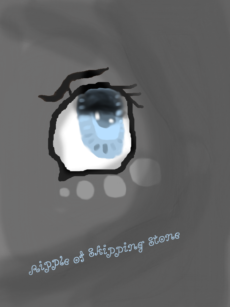 Ripple of Skipping Stone *{Eye Shot}* by XxDragonRiderxX12