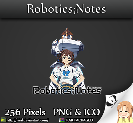 Robotics Notes Anime Folder Icon By Lsinl On Deviantart
