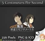 5 Centimeters Per Second - Anime Folder Icon