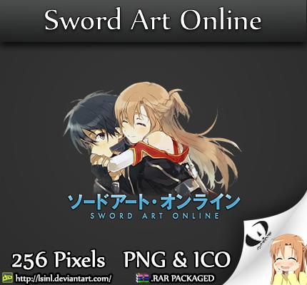 Sword Art Online - Anime Folder Icon by lSiNl
