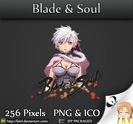 Blade and Soul - Anime Icon Folder by lSiNl