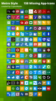 158 Missing App-icons Metrostyle By Cryptowork