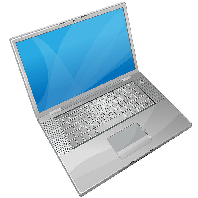 vector laptop by iconhive
