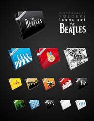 The beatles folder icons