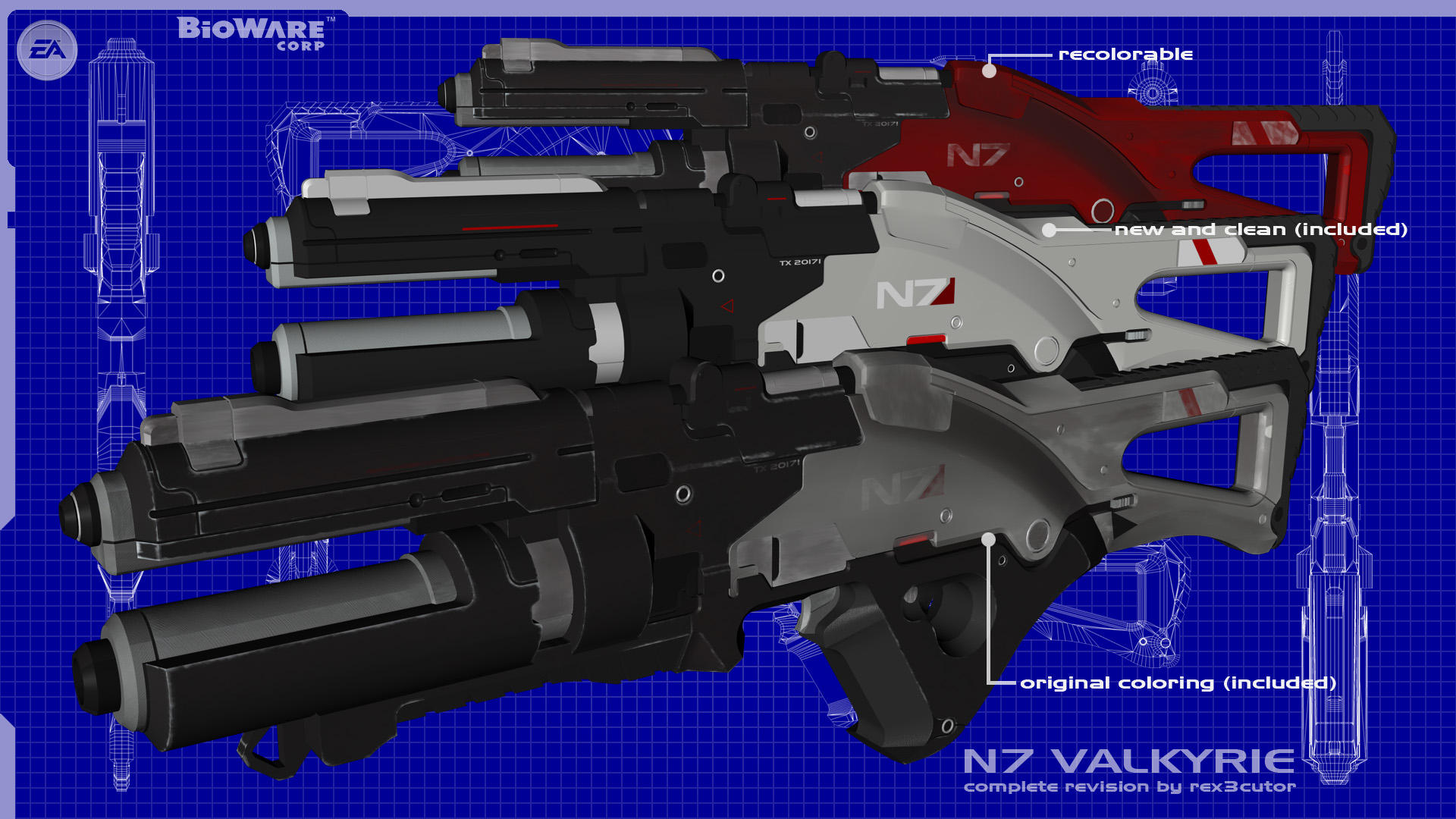Downloadable N7 Valkyrie by rex3cutor