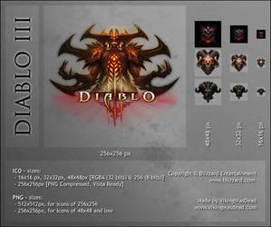 Diablo III: Dock Icon by VikingWasDead