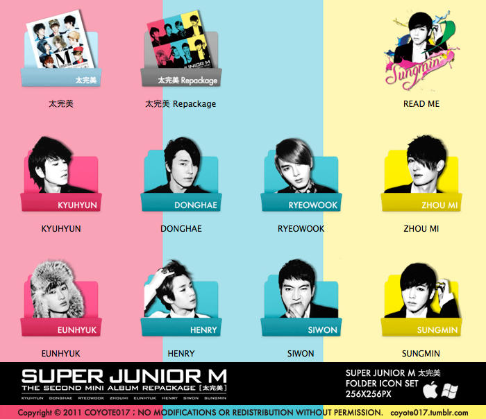 SJ-M - ICON SET for Win by coyote777