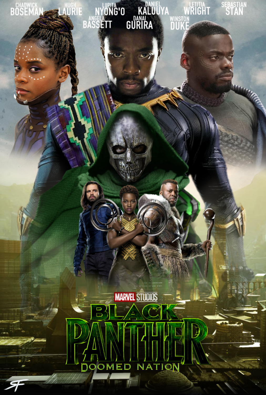 Black Panther 2 Doomed Nation Fanmade Poster 2 By Sebastiansmind On Deviantart