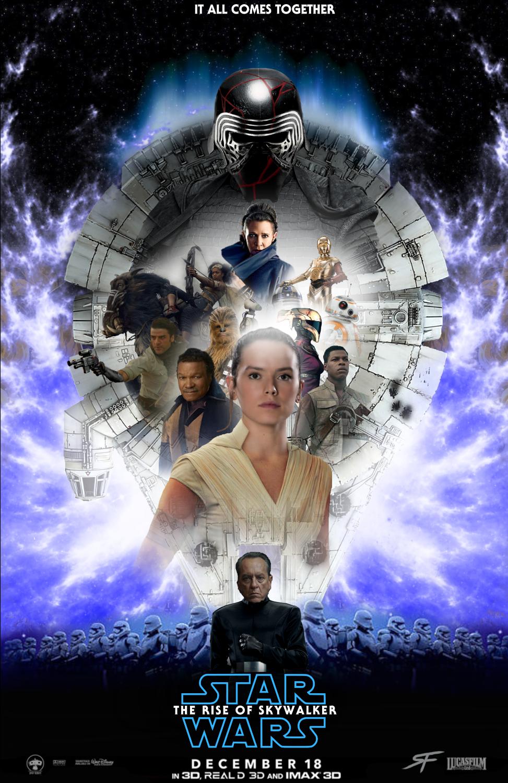 Star Wars Rise Of Skywalker Poster 2 Fan Made By Sebastiansmind On Deviantart