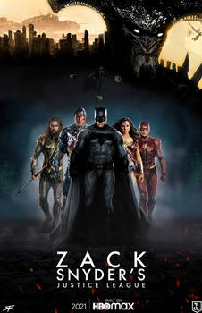 Zack Snyder's Justice League (2021) - Fan Poster