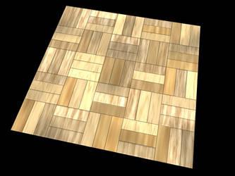 procedural parquet material by T3RMiN4T0R