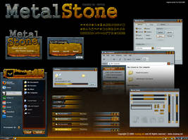 Metal Stone theme for Windows by chinapeng