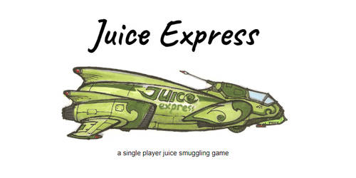 Juice Express solo board game