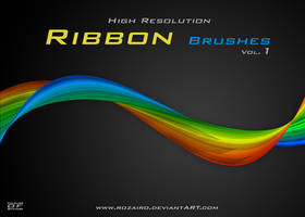 Ribbons brushes by Rozairo