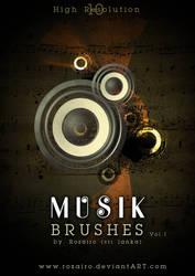 musik brush by Rozairo