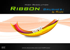 Ribbon brush 2 by Rozairo