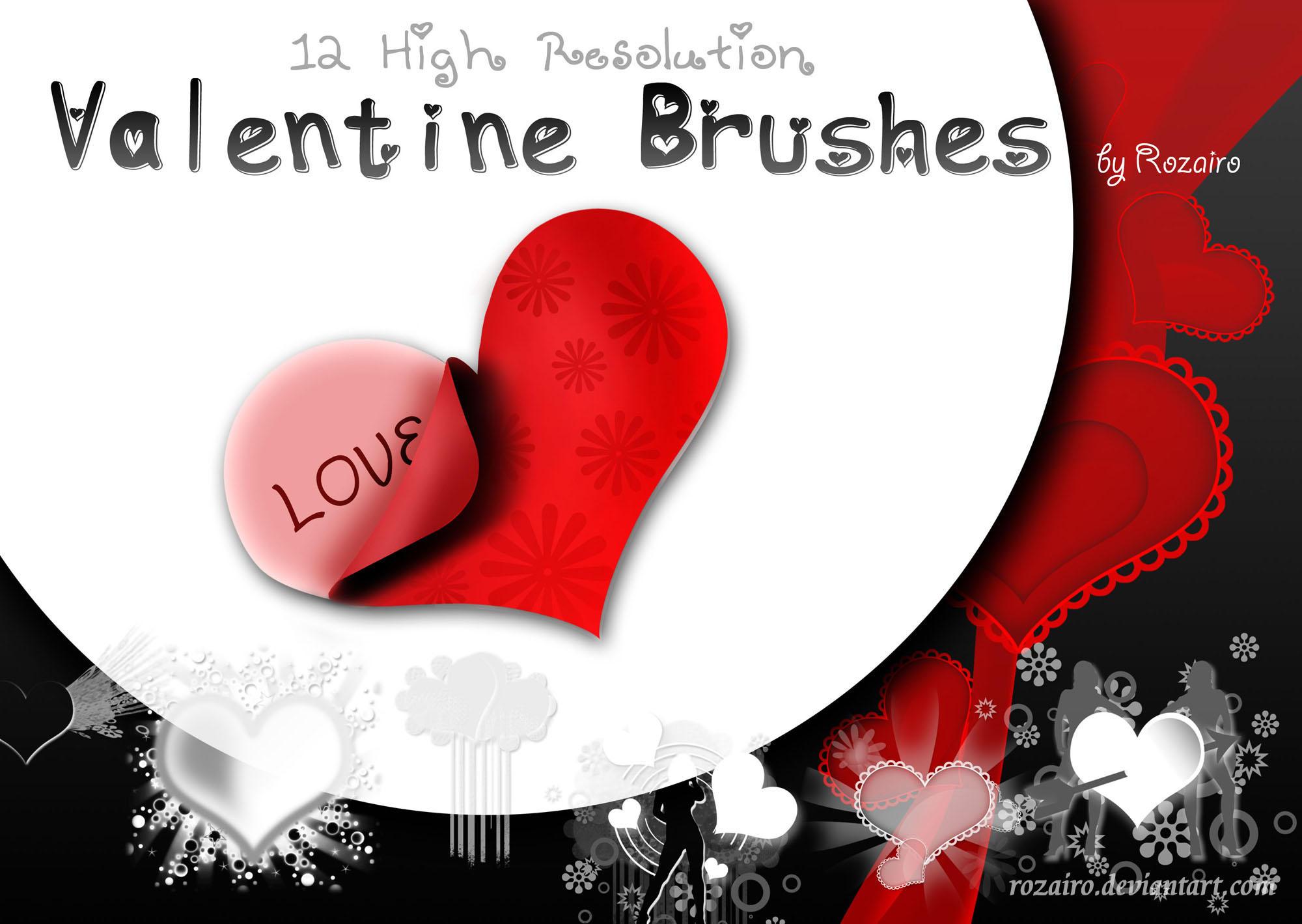 Valentine Brush by Rozairo