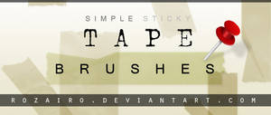 tape brushes