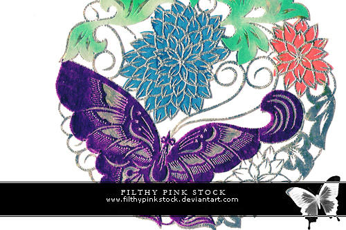 Stock - Chinese Paper Cuts 1 by FilthyPinkStock