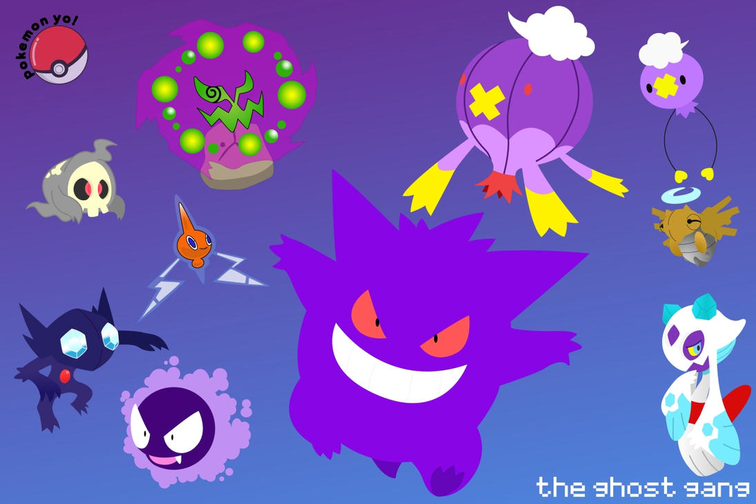 All Ghost Pokemon Name...