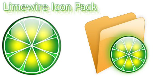 Limewire Icon Pack v1.5 by furryomnivore