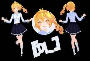 [MMD]TDA Neru Cute School (DL) by HeyMisaki-chan