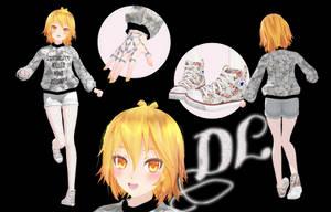 [MMD] TDA Neru Vintage (DL) by HeyMisaki-chan