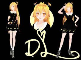 [MMD]TDA Neru crazy for Sailor Moon (DL) by HeyMisaki-chan
