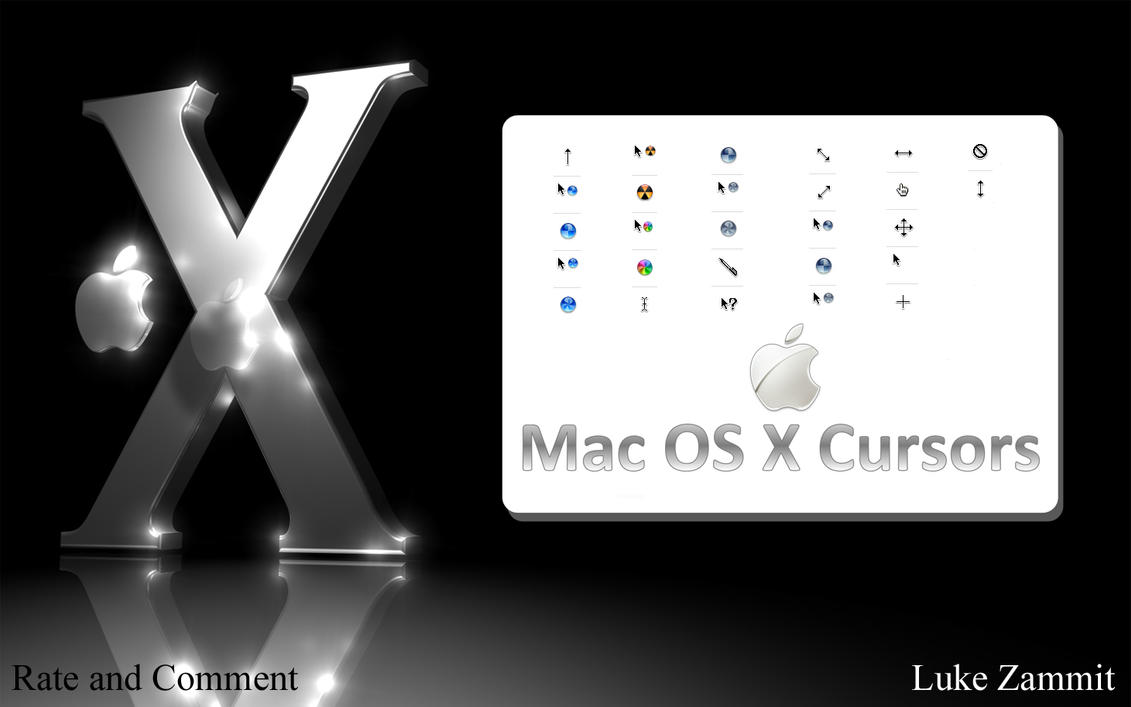 how to change cursor image on mac