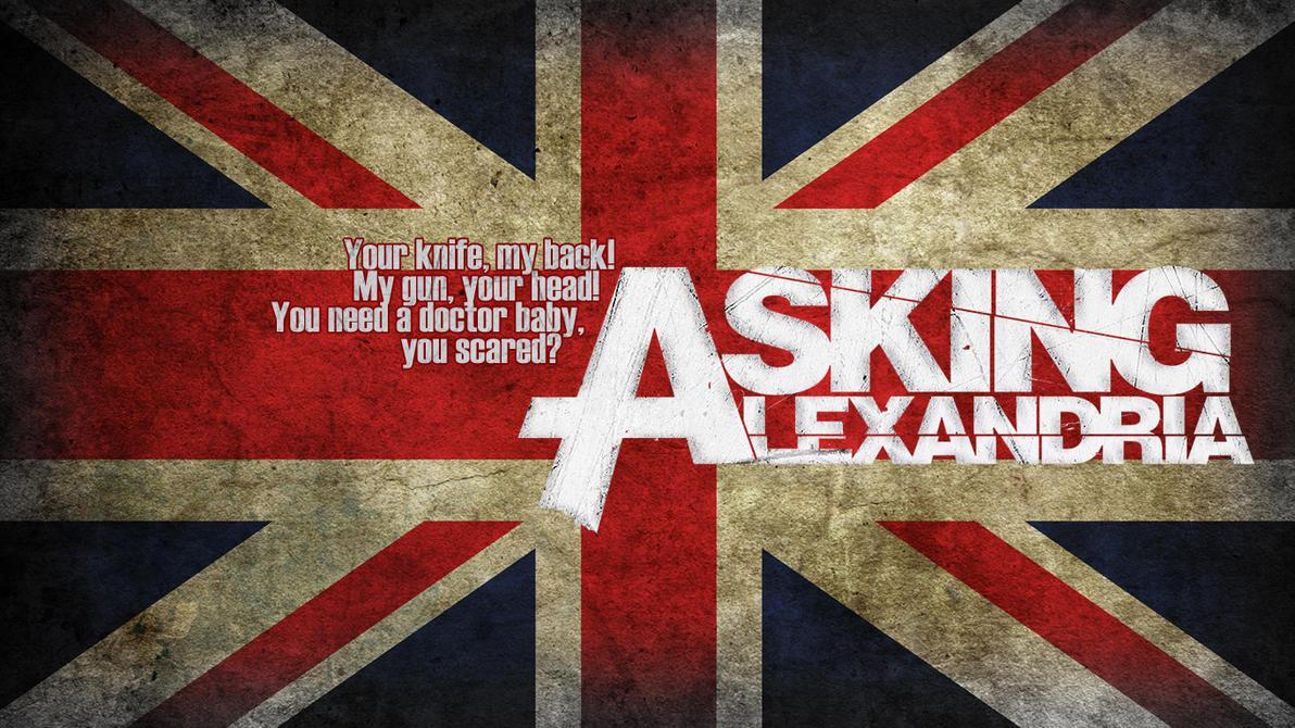 Asking Alexandria wallpaper pack by horizon14Asking Alexandria Lyrics Wallpaper