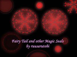 MAGIC SEALS BRUSH SET by ruusarutobi