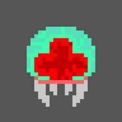 Metroid- Pixel Art