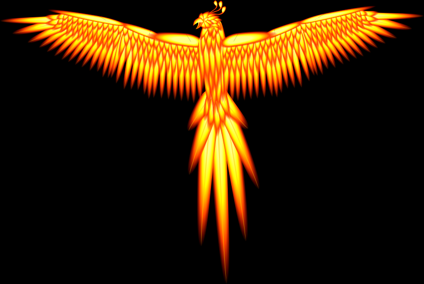 Fire Phoenix - Full Feather