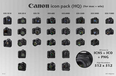 Canon DSLR Icon Pack HQ 1.2