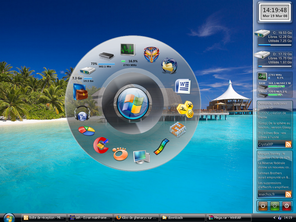 الافضل فى تجميل الجهاز Rainmeter Build 1842 Final Seven_Dock_for_Rainm