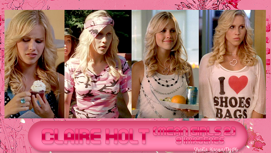 Photopack 021 Claire Holt (Mean girls 2) by ShailaHaena on