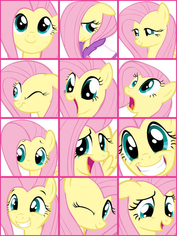 Fluttershy User Icons Vol. 1 by ShelltoonTV