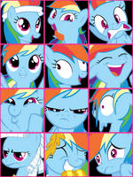 Rainbow Dash User Icons Vol. 1