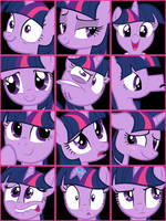 Twilight Sparkle User Icons V1 by ShelltoonTV