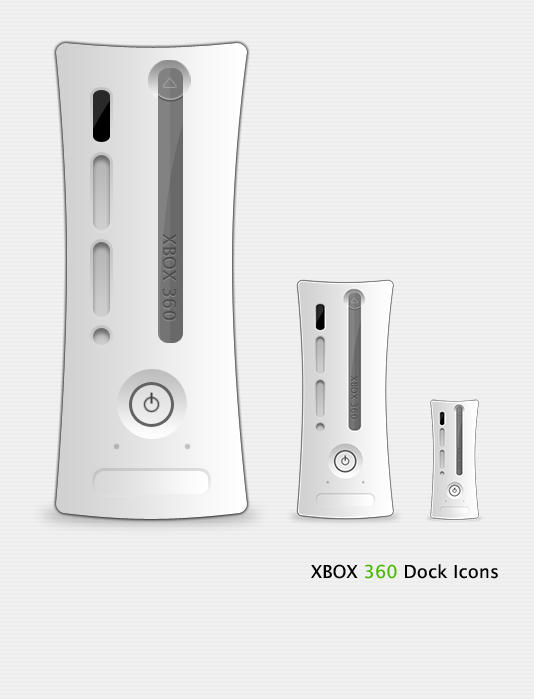 X360 Dock Icons by Ridikul
