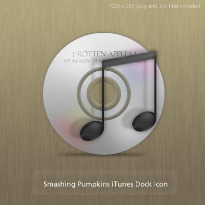 Smashing Pumpkins iTunes Icons by Ridikul
