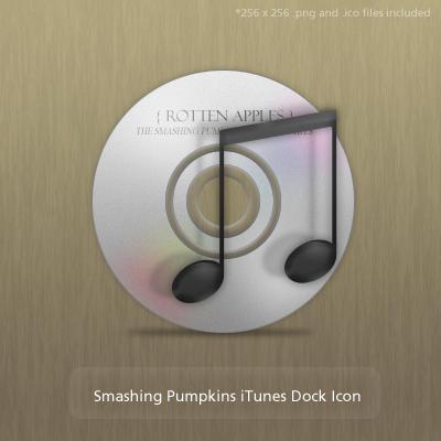 Smashing Pumpkins iTunes Icons by Ridikul