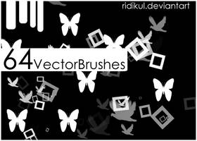64 Vector Brushes by Ridikul