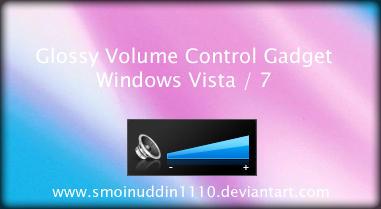 Volume Control Gadget by smoinuddin1110