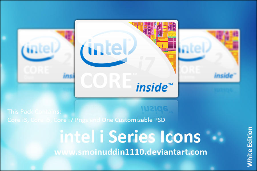 Intel i Series Icons WE by smoinuddin1110