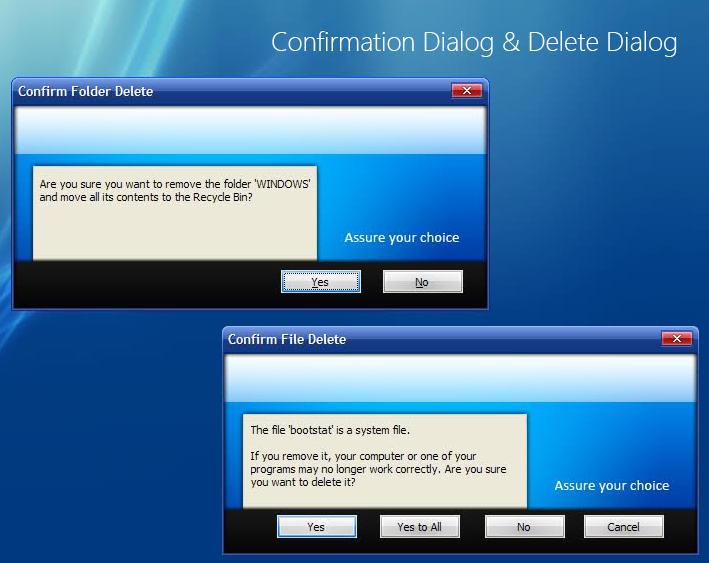 Confirmation + Delete Dialog by smoinuddin1110